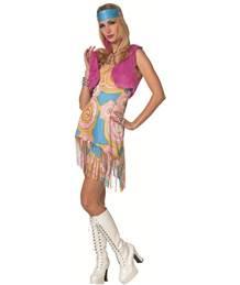 8bb9e7d559a592 Hippie Flower power kleding in de groep THEMAFEEST KLEDING bij SEP ...
