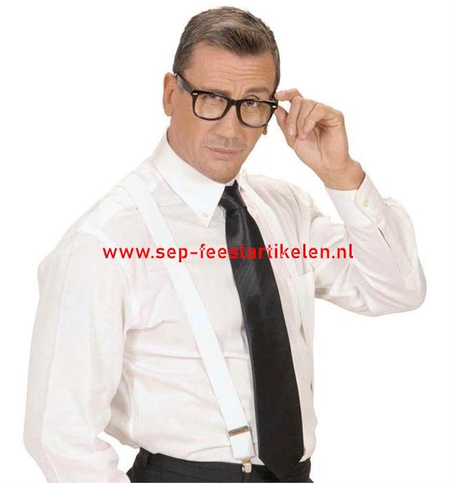 d4bf8694b7fe2c Zwarte fashion bril direct leverbaar! - SEP Feestartikelen