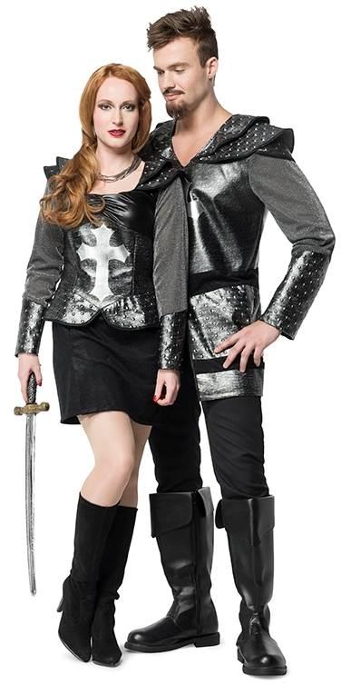 carnavalskleding man en vrouw set