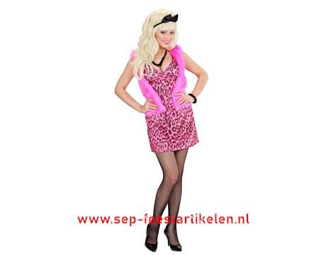 Favoriete Fout jaren 80 jurk 3dlg. direct leverbaar! - SEP Feestartikelen &VF43
