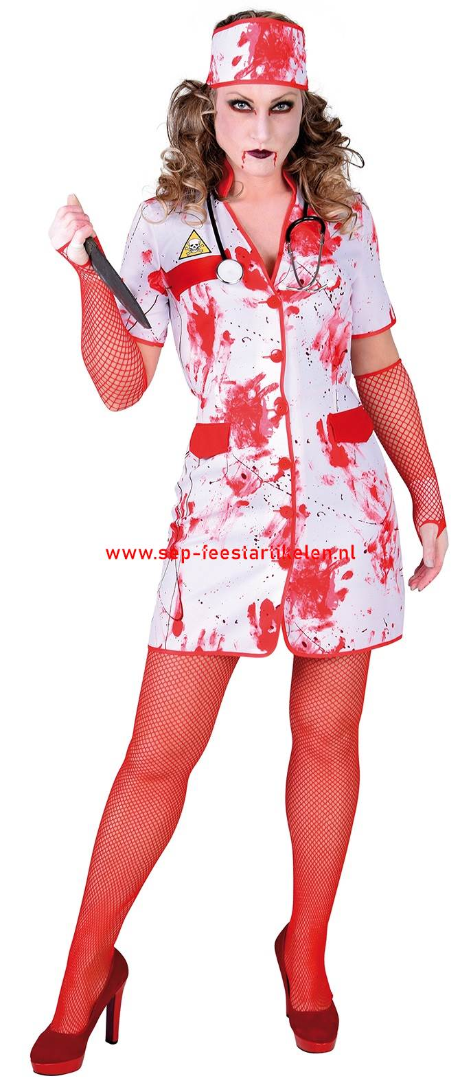 3c84cade60e Bloody Halloween zuster pakje 2dlg. direct leverbaar! - SEP ...