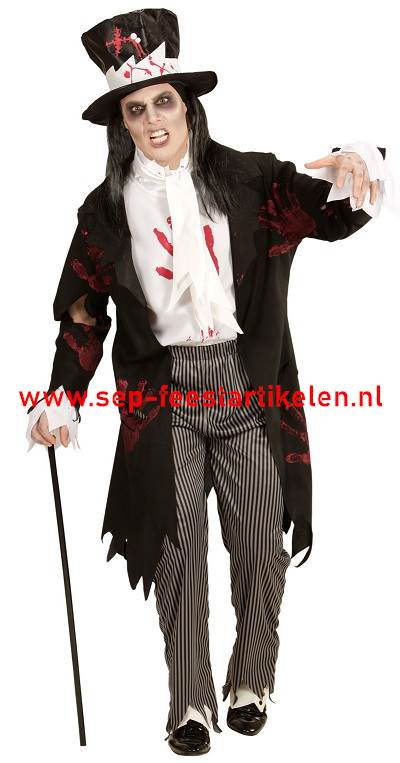 Halloween Pak.Halloween Pak Zombie Groom 4dlg Direct Leverbaar Sep