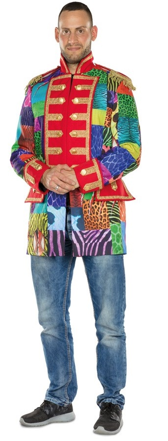 Carnavalsjasje luxe pauw kort | Robbies Feestkleding
